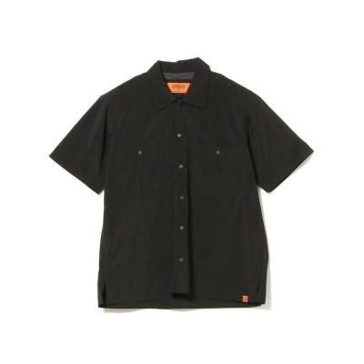(BEAMS MEN/ビームス メン)UNIVERSAL OVERALL / Packable Shirt/メンズ BLACK