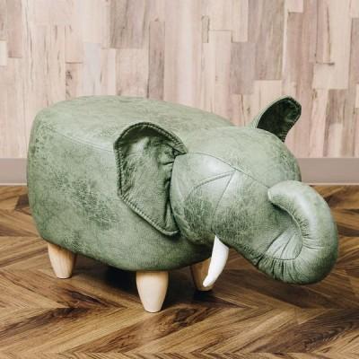 アンファンス ぞうのモチーフスツール Elephant エレファント(カーキ) EN FANCE EF-ST11KH 返品種別A