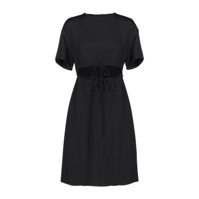 ヴァレンティノ VALENTINO ミニワンピース&ドレス ブラック 40 シルク 100% ミニワンピース&ドレス