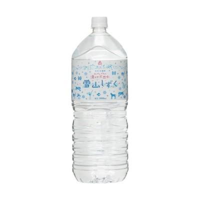 ゴールドパック 北アルプスの清らか天然水 雪山しずく 2L ペットボトル 1ケース(6本)