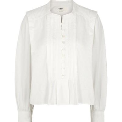 イザベル マラン Isabel Marant Etoile レディース トップス okina white cotton top White