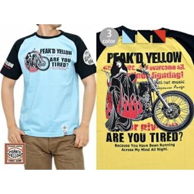 CHOPPER半袖Tシャツ◆Peak'd Yellow