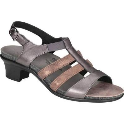 サス レディース サンダル シューズ Allegro Heeled Strappy Sandal