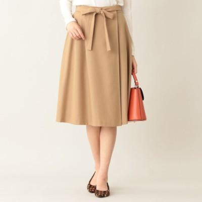 ソフトウールジョーゼットスカート