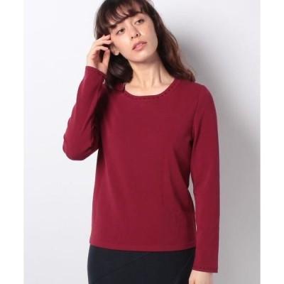 LAPINE BLANCHE / ラピーヌ ブランシュ 天竺×地柄 セーター