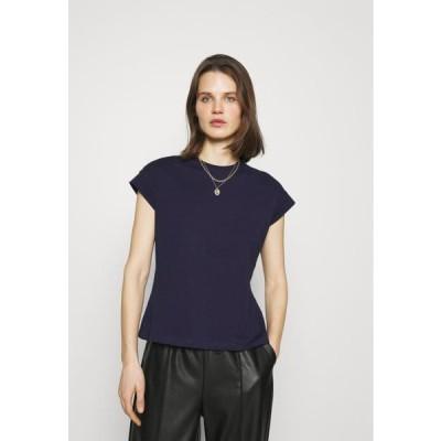 アンナフィールド レディース ファッション Basic T-shirt - dark blue