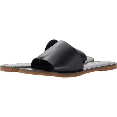 Madewell The Boardwalk Post Slide Sandal レディース サンダル True Black