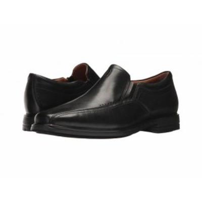 Clarks クラークス メンズ 男性用 シューズ 靴 ローファー UnSheridan Go Black Leather【送料無料】