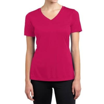 レディース 衣類 トップス Womens Active Cotton Stretch Technology Slim Fit T-Shirt Tシャツ