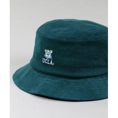 SPINNS / 【UCLA / カルフォルニア大学ロサンゼルス校】コーデュロイバケットハット MEN 帽子 > ハット