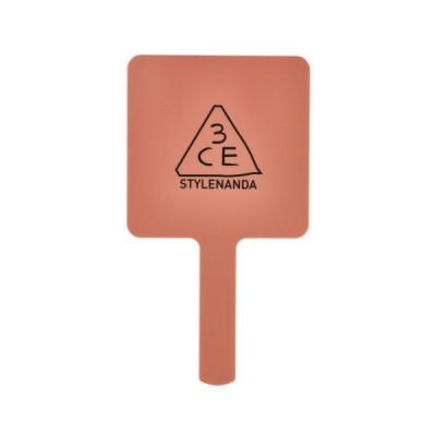 スリーコンセプトアイズ 3CE ムード レシピ スクエア ハンド ミラー (M)#ROSE BEIGE (手鏡・ハンドミラー)★