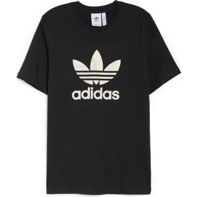 アディダス ADIDAS ORIGINALS メンズ Tシャツ トップス Camo Infill Graphic Tee Black/Alumina/Multicolor