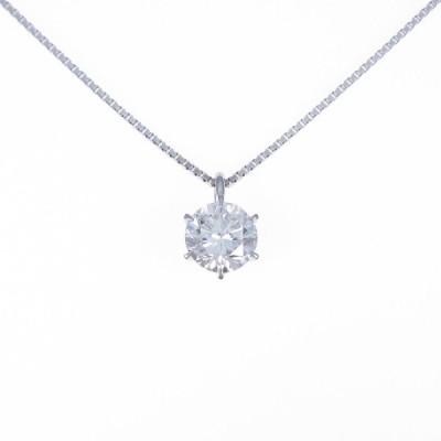 【リメイク】プラチナダイヤモンドネックレス 2.119ct・I・SI2・GOOD