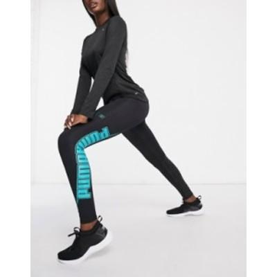 プーマ レディース レギンス ボトムス Puma Training xtreme 7/8 leggings in black Black