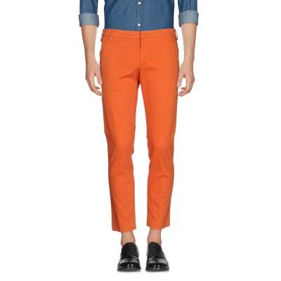 アントレ アミ ENTRE AMIS パンツ 赤茶色 36 コットン 98% / ポリウレタン 2% パンツ