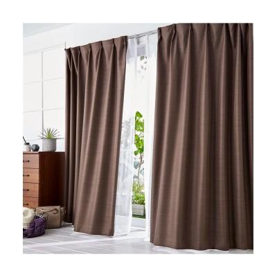 1級遮光・遮熱カーテン&レースセット(光沢のある杢調) カーテン&レースセット, Curtains, sheer curtains, net curtains(ニッセン、nissen)