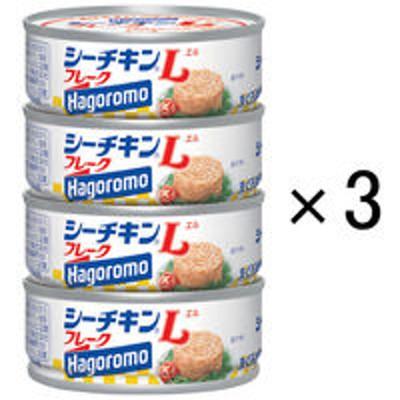 はごろもフーズはごろもフーズ シーチキンLフレークSP4 70g(1缶) 748122 1セット(4缶入×3個)