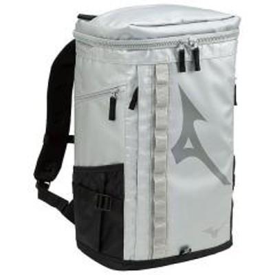 ミズノ(セール)MIZUNO(ミズノ)スポーツアクセサリー バッグパック ターポリンバックパック30 33JD803004 04シルバー