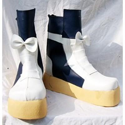 Gargamel コスプレ靴 魔法少女リリカルなのは 高町なのは コスプレブーツm150