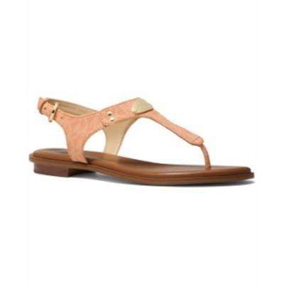 マイケルコース レディース サンダル シューズ MK Plate Flat Thong Sandals Cantaloupe