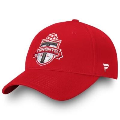 ユニセックス スポーツリーグ サッカー Toronto FC Fanatics Branded Alpha Core Adjustable Hat - Red - OSFA 帽子