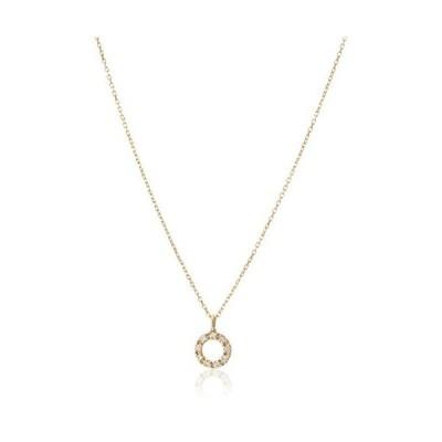 [ザ・リトル・クラシックス] ダイヤモンド 0.04ct イエローゴールド K18 ペンダント 102P0492