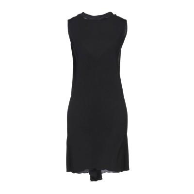 I BLUES ミニワンピース&ドレス ブラック M レーヨン 91% / ポリウレタン 9% ミニワンピース&ドレス