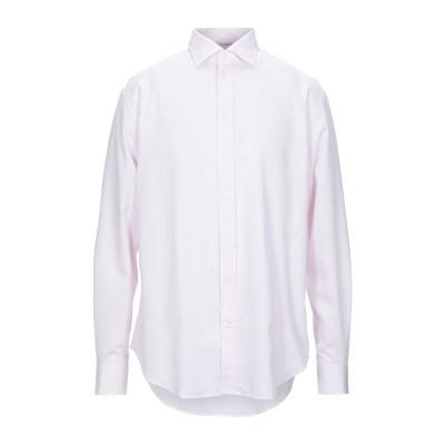 アルマーニ コレッツィオーニ ARMANI COLLEZIONI シャツ ライトピンク 38 コットン 100% シャツ