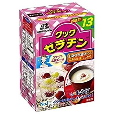 森永製菓 クックゼラチン 13袋入り (5g13P)4箱