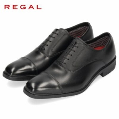 【還元祭クーポン対象】 REGAL リーガル 靴 メンズ 31VR BE GORE-TEX ゴアテックス 紳士靴 防水 本革 黒 ストレートチップ ビジネスシュ