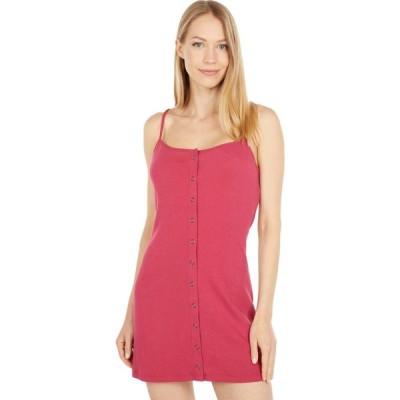 ルーカ RVCA レディース ワンピース ワンピース・ドレス Save It Dress Cranberry