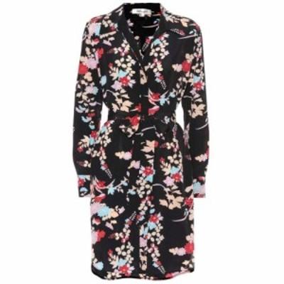 ダイアン フォン ファステンバーグ Diane von Furstenberg レディース ワンピース ワンピース・ドレス Floral silk shirt dress Walden B