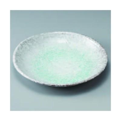 青釉9号丸皿(萬古焼) 282-09-714