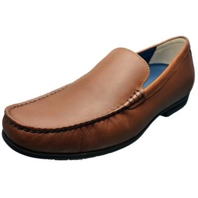 リーガル 靴 REGAL メンズ カジュアルシューズ ロングノーズ ヴァンプ スリッポン 56HR ブラウン 本革