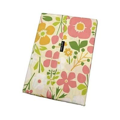 CAMEL PALMS 日本製 綿100% 掛布団カバー 150×200cmの シングル 用 アートフラワー柄 ピンク