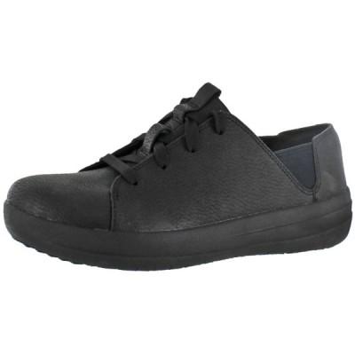フラットシューズ フィット フロップ FitFlop Womens F-Sporty Leather Lace-Up Sneakers Shoes