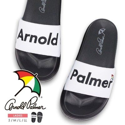 アーノルドパーマー シャワーサンダル レディース かわいい スライド 厚底 スポーツサンダル 痛くない カジュアル 黒 白 ブラック ホワイト 5412