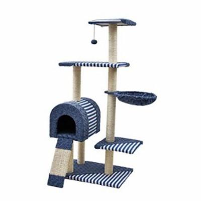 猫の木猫のスクラッチ活動センターぶら下がっているぬいぐるみボールおもち(中古品)