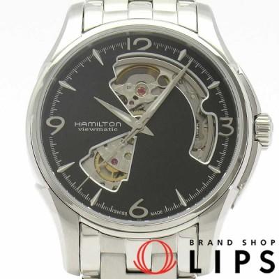 ハミルトン ジャズマスター ビューマチックオートマチック メンズ時計 H32565135 SS 黒文字盤 美品