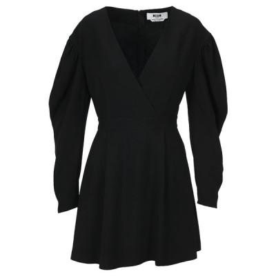 エムエスジイエム レディース ワンピース トップス MSGM V-Neck Mini Dress -