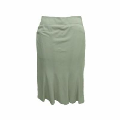 INED イネド 「7」 ドレープ スカート 066925【中古】