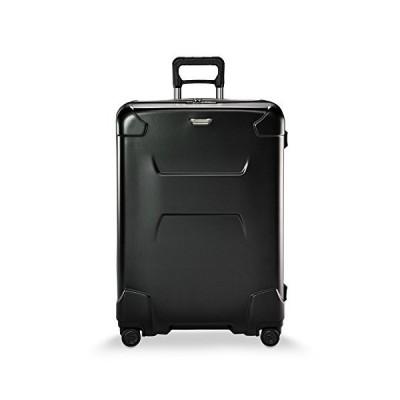 Briggs & Riley Torq-Hardside Checked X-Large Spinner Luggage, Tech Black, 32-Inch【並行輸入品】