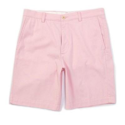 ラウンドトゥリーアンドヨーク メンズ ハーフパンツ・ショーツ ボトムス Flat Front 9#double; Inseam Washed Cotton Shorts
