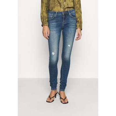 オンリー デニムパンツ レディース ボトムス ONLCARMEN LIFE  - Jeans Skinny Fit - medium blue denim