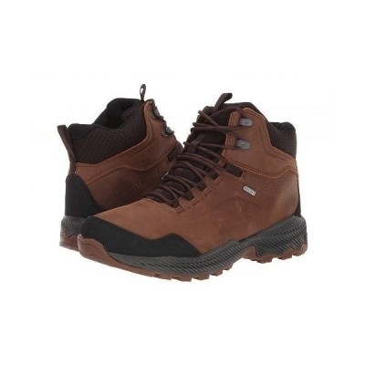 Merrell メレル メンズ 男性用 シューズ 靴 ブーツ ハイキングブーツ Forestbound Mid Waterproof - Merrell Tan