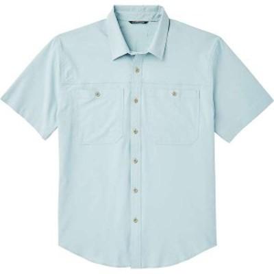 フィルソン メンズ シャツ トップス Filson Men's Ultra-Light SS Shirt Gulf Blue