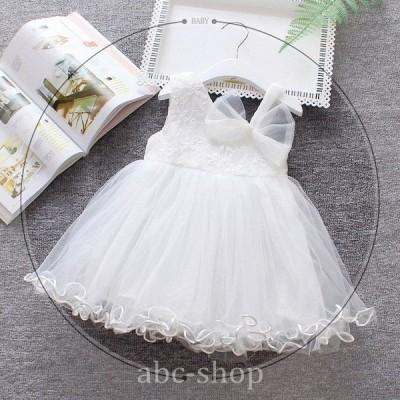 セレモニードレスベビーベビードレスワンピース赤ちゃん出産祝いお宮参り女の子ドレス入園式結婚式七五三子ども服