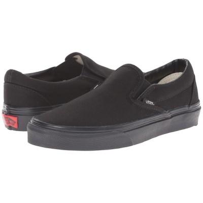 ヴァンズ Vans メンズ スリッポン・フラット シューズ・靴 Classic Slip-On(TM) Core Classics Black/Black (Canvas)