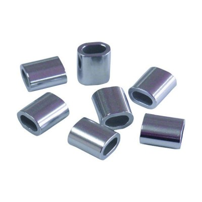 ニッサチェイン(NISSA CHAIN) ニッサチェイン オーバルスリーブ1.2mm用(30個入り) P-893 1パック(30個) 478-8974(直送品)