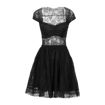 ゲス GUESS ミニワンピース&ドレス ブラック XS ナイロン 91% / ポリウレタン 9% ミニワンピース&ドレス